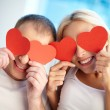 Hearty love — Stock Photo