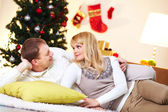 Restful couple — Stock Photo