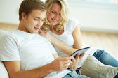 Modern couple — Stock Photo