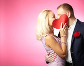 Kiss of love — Stock Photo