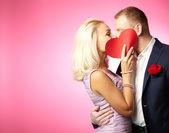 Kiss of love — Stock Photo
