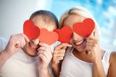 Hearty love — Stock Photo