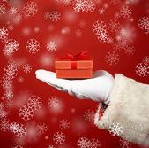 Gift on hand — Fotografia Stock