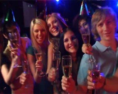 Vänliga hälsningar — Stockvideo
