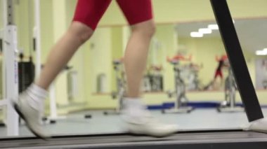 At sport club — Stock Video #18045243