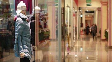 Shopping center — Stock Video