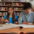 schoolbibliotheek — Stockvideo #18087157
