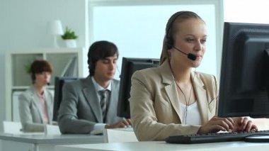 Call center — Video Stock