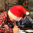 Letter to Santa — Video Stock
