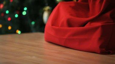 рождественский подарок — Стоковое видео
