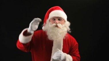 Dancing Santa — Stock Video