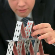 House of cards — Stock Video