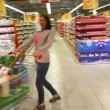 Shopper having fun — Stock Video #18273093