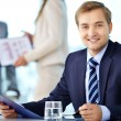 Confident boss - Stock Photo