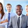 Leader of business team — Stock Photo #19208283