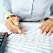 Accounting notes — Stock Photo #19208695