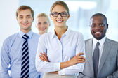 Charming leader — Stock Photo