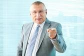 Chefe rigoroso — Foto Stock