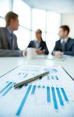 Bedrijfsanalyse — Stockfoto