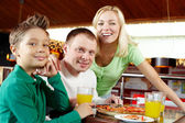 Family lunch — Stock Photo