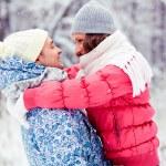 Winter embrace — Stock Photo #19223495