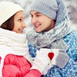 Stockfoto: Winter cheers