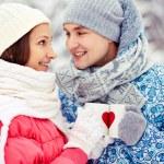 cin cin inverno — Foto Stock