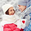 Winter cheers — Stock Photo