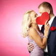 Kiss of love — Stock Photo #19225985