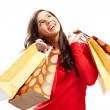 Happy shopper — Stock Photo #19229193