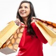 Shopper with bags — Stock Photo #19229207