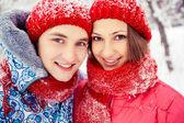 Young couple — Stok fotoğraf