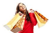 幸せな買物客 — ストック写真