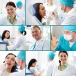 Dental practice - Foto Stock