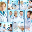 Doctors at work - Foto Stock