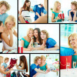 Girlfriends - Stockfoto