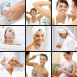 Stock Photo: Beauty care