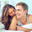 Morning lovers — Stock Photo