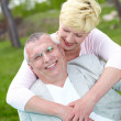 Joyful couple — Stock Photo