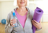 Ready for workout — Stock Photo