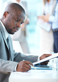 Business concentration — Stock Photo
