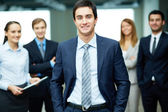 Líder masculino — Foto de Stock