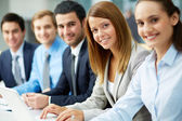 Educação de negócios — Foto Stock
