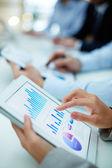 Obtenção de estatísticas — Foto Stock