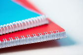 Spiral notebooks — Stock Photo
