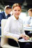 Secretary at work — Stock Photo