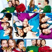 Happy friends — Stock Photo