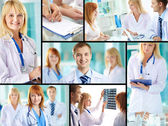 Successful doctors — Stockfoto