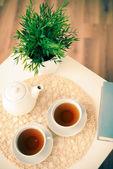 čaj pro dva — Stock fotografie