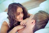 Serene couple — Stock Photo